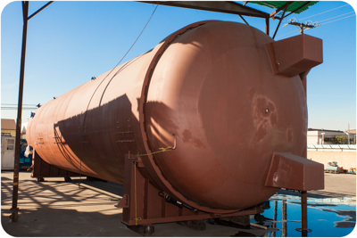 10 ft. Diameter x 38 ft. length Taricco Corporation new autoclave
