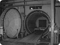 Used12 ft. Diameter x 20 ft. Length  autoclave available at Taricco Corporation