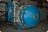 Used4 ft. Diameter x 9 ft. Length  autoclave available at Taricco Corporation