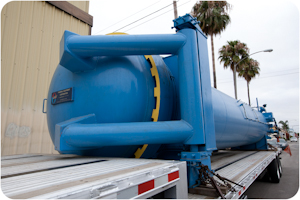 Used5 ft. Diameter x 30 ft. Length  autoclave available at Taricco Corporation