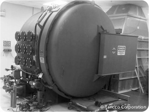 Used8 ft. Diameter x 5 ft. 6 in. Length autoclave available at Taricco Corporation